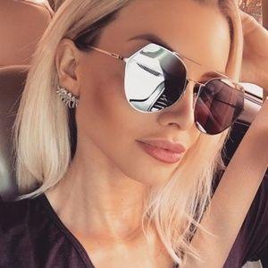 Brand New Fendi Eyeline 0194 Aviator Sunglasses